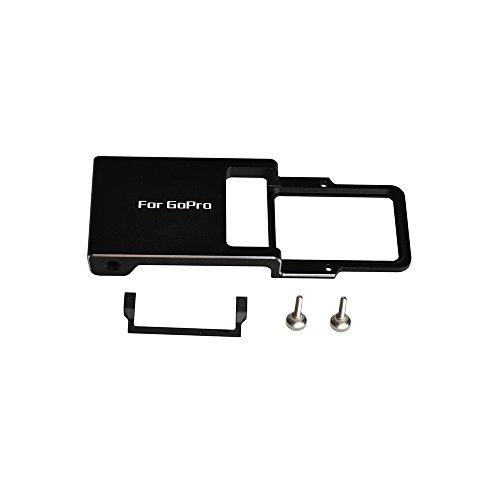 Adattatore Tieni Switch Mount Plate Board Alluminio per GoPro Hero 5 4 3 3+ Xiaoyi DJI Osmo Zhiyun Mobile Gimbal Handheld