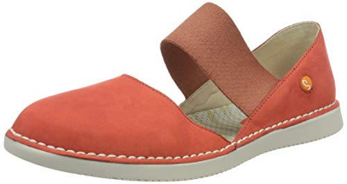Softinos Damen TEJA576SOF Espadrilles, Rot (Devil Red 003), 39 EU