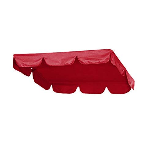 Ersatzdach Gartenschaukel Universal Hollywoodschaukel 2 Sitzer (142x120x18cm)/3 Sitzer (164X114X15CM) UV Ersatz Bezug Bettfunktion Liegefunktion Schaukel Sonnendach Schaukel (164X114X15CM)