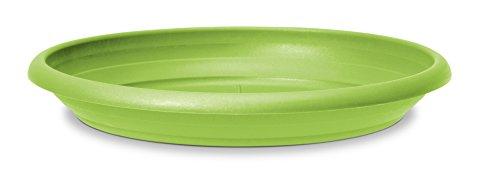 Scheurich Untersetzer aus Kunststoff, Pure Lime, 28 cm Durchmesser, 4,1 cm hoch