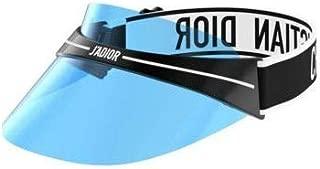 Authentic Christian Dior DIORCLUB 1 Visor G0Y07 Blue Mirror Sunglasses