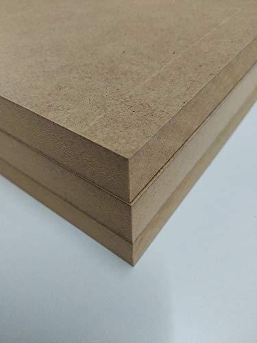 MDF-Platte, 16 mm, A3 420 x 297 mm. Zum Basteln, Dekorieren, Zeichnen, Basteln, Malen.