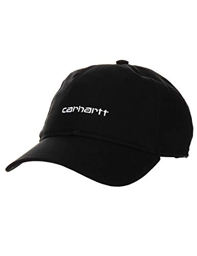 Carhartt Cappello Uomo Script I028876 Nero Primavera Estate 2021