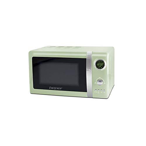 MICROONDE BEPER FORNO verde 20 LT GRILL 700W DISPLAY DIGITALE 12 PROGRAMMI BEPER