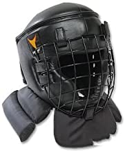 Pro Force Thunder Padded Combat Head Guard w/Face Cage - Medium
