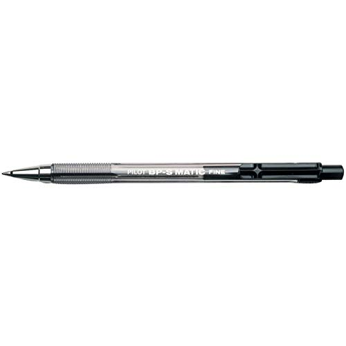 PILOT 156380 Druckkugelschreiber BPS-Matic Fine, schwarz