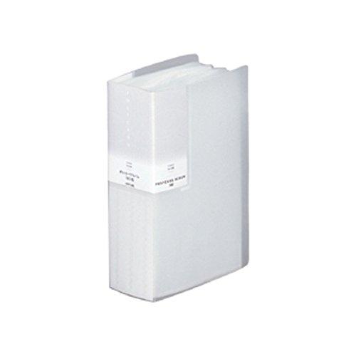リヒトラブ ポストカードアルバム A6 90ポケット ホワイト G8111-0