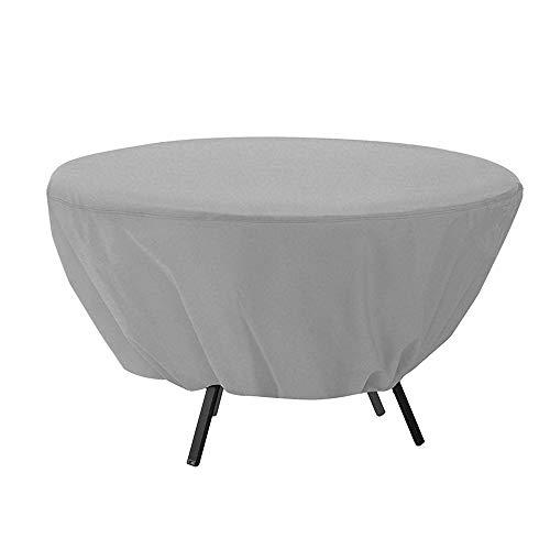 Fundas para Muebles de Jardín Mesa redonda al aire libre y cubierta de la silla impermeable protector solar Balcón Muebles de jardín cubierta de polvo multicolor opcional 127x58cm para Patio, al aire