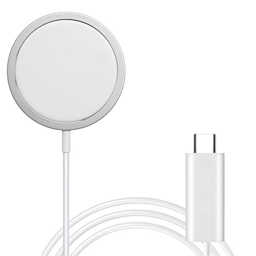 AICase Caricatore Magnetico,Caricabatterie Wireless per Phone 12,12 PRO 12 Mini 11,11 PRO,11 PRO Max, AirPods,Galaxy S20 S10,Note 10 9-1 m