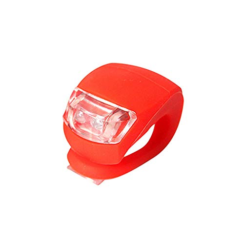 Blinklicht Schulranzen Blinklicht led Roller Lichter Rollerlichter für Kinder Rollerlicht Mikrorollerlicht Silikon Fahrrad Lichter red,Freesize