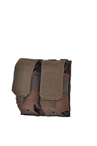 Porte chargeur Double M4/M16 Système Molle (Sable)