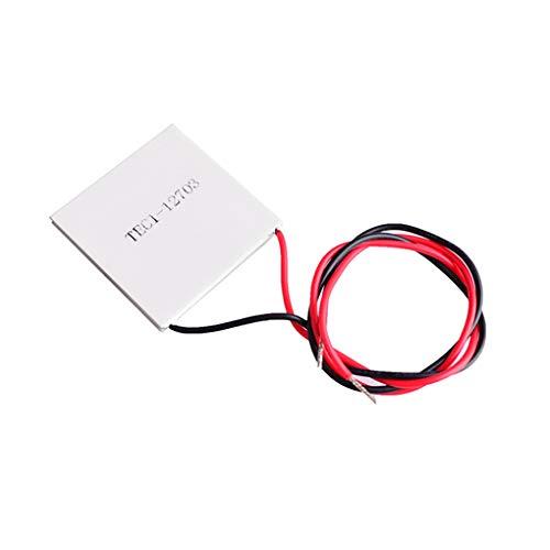 Vokmon 12V 3A refrigerador termoeléctrico Tec Semiconductor módulo deshumidificador termoeléctrico Placa de enfriamiento 27W