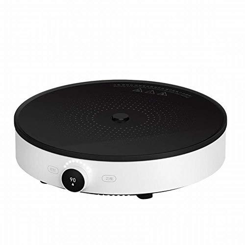 1yess Induktionskocher Home Dual-Frequenz-Brand-App-Smart-Temperatur-Kontroll-Desktop-Rühren-Braten-Heizkocher, weiß, 1
