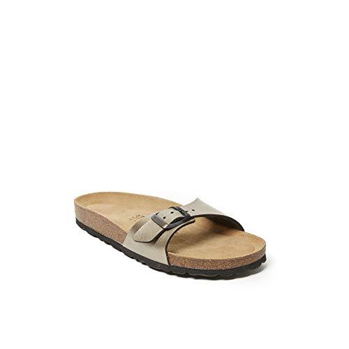 Mandèl Sandalo - Sandalias de vestir de Piel sintética para mujer Marrón bronce Marrón Size: 36 EU