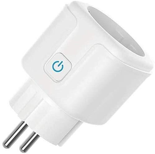 Smart Plug, Wireless Socket afstandsbediening Timer Plug Stel Wi-Fi Smart Socket Graffiti App Remote Switch Timing Voice Control Vermogen op afstand bedienbare stekker,dsnmm