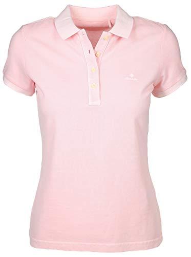 GANT Damen Poloshirt Größe XL Rot (rosa)