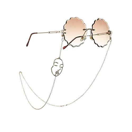 Cordón para gafas, cadena simple, gafas de sol, cuerda para traje de gafas