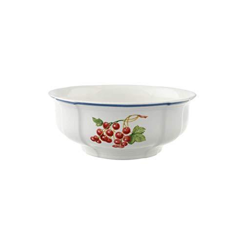 Villeroy & Boch Cottage Ensaladera, Porcelana Premium, Blanco/Colorido