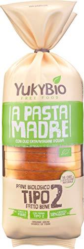 Yukybio Pane Bauletto biologico Pasta Madre con farina Tipo 2 400g