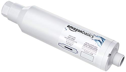 Amazon Basics Inline Water Filter, 2 Pack
