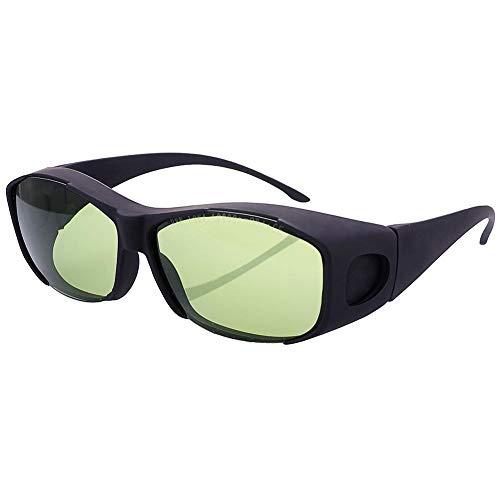 Gafas de seguridad láser Runmind de 980 nm, 1064 nm, 10600 nm (10,6 um) longitud de onda para la belleza y protección de ojos de cosmetología, marcador láser de fibra/soldadura/máquina de corte