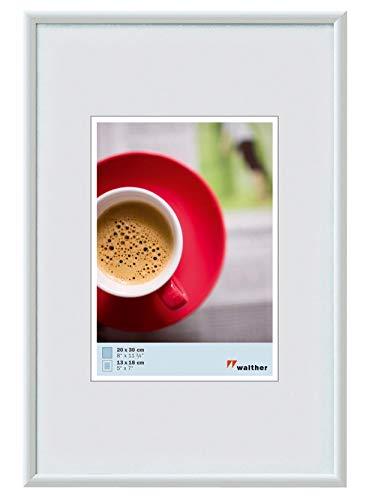 walther design KW040H Galeria Kunststoffrahmen im Format, 1 (30 x 40 cm), weiß