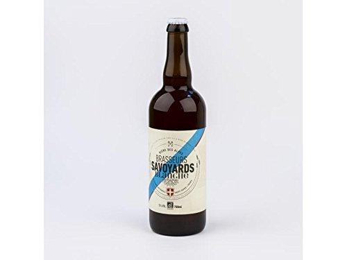 Cerveza Blanca IPA Orgánica - Especialidad de cerveza de trigo malteada de los Alpes franceses - 0.75l