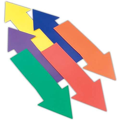 BSN Sports US Games Straight Arrow Markers Set of 6