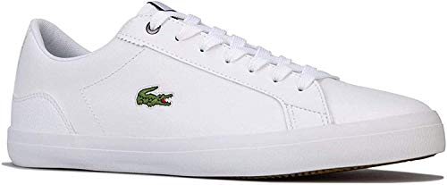 Mens Lacoste Lerond 418 Trainers in White.