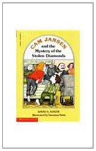 Paperback Cam Jansen and the Mystery of the Stolen Diamonds Book