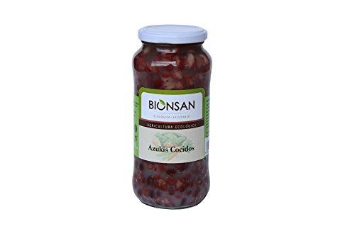 Bionsan Azukis Cocidos Ecológicos - 4 Botes de 400gr - Total: 1600 gr (4241121)
