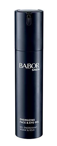 BABOR Men Energizing Face & Eye Gel, Leichte Gel-Creme Für Gesicht Und Augen, Schnell Einziehend, Nicht Fettend, Unkomplizierte Anwendung, 1 X 50 ml, 700004