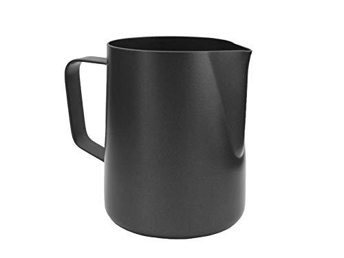 scarlet espresso | Milchkännchen »L\'Art Modern Anthrazit« für Latte Art oder Cappuccino; aus 18/10 Edelstahl mit Antihaft-Beschichtung (innen & außen); hochwertiger Barista Pitcher (350 ml)