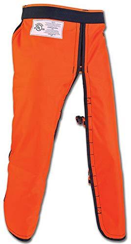 Arborwear Men's 820100R Apron Style Chainsaw Chaps, Orange - One Size