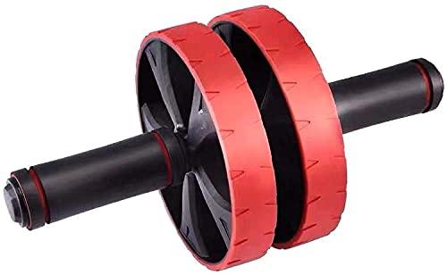 Rueda Abdominal Rueda de Rodillo ABS 32 cm Red ABS Acero Ruido Reducción Doble Rueda AB Rodillo para Brazo Cintura Ejercicio Ejercicio Gimnasio Equipo de Fitness LQHZWYC