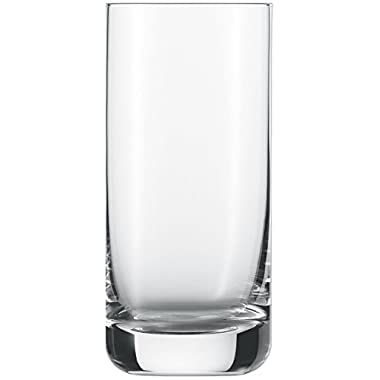 Schott Zwiesel Tritan Crystal Glass Convention Barware Collection Long Drink Cocktail/Iced Beverage Glass, 12-1/2-Ounce, Set of 6