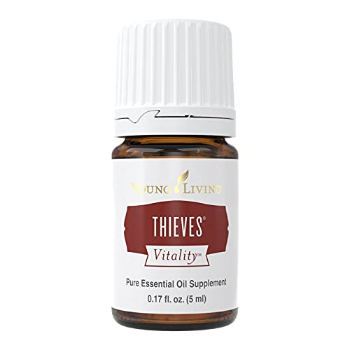 Thieves Vitality Essential Oil by Young Living, 5 Milliliters, Dietary
