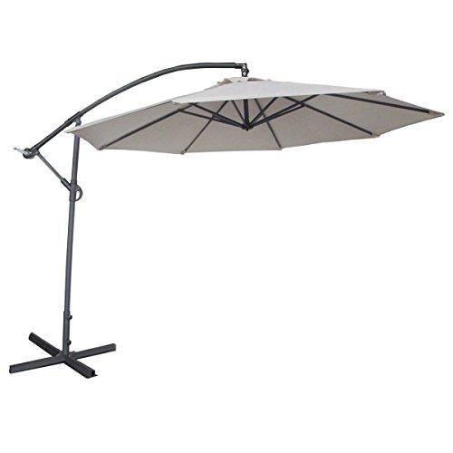 Abba Patio 10-Feet Offset Cantilever Umbrella