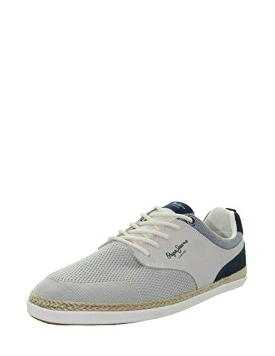 Pepe Jeans Maui Sport 800 - Zapatillas deportivas, Blanco (blanco), 44 EU