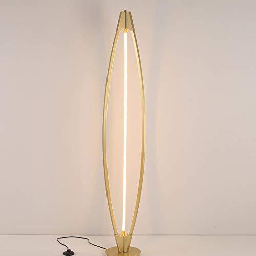 Helele Staande ledlamp, acryl, dimbaar, met leeslamp, draaibaar, voor woonkamer