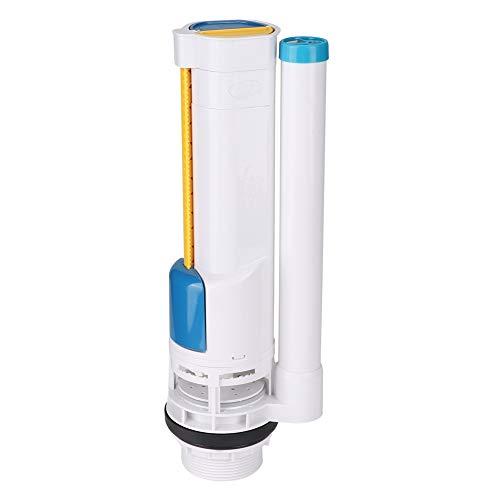 Válvula de descarga - Tanque de agua conectado Válvula de drenaje de entrada de cisterna de doble descarga de inodoro - Kit completo de reparación de tanque de inodoro de 285 mm Juego de válvula de de