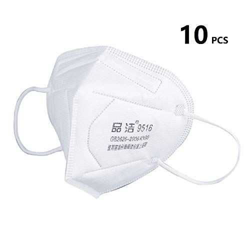 Kinshops Anti-Fog Mask Dust-Proof Safety Face Masks Bicycle Riding Comfortable Face Mask 10PCS