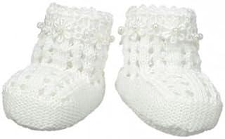 Jefferies Socks ジェフリーズソックス 新生児セレモニー ブーティー クロシェ編み ハンドメイド