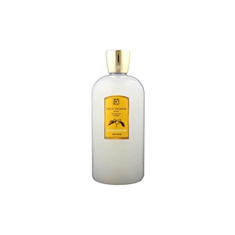 残る対処するマラドロイトTrumpers Sandalwood Skin Food - 500ml Travel (Pack of 6) - サンダルウッドスキンフード - 500ミリリットル旅 x6 [並行輸入品]