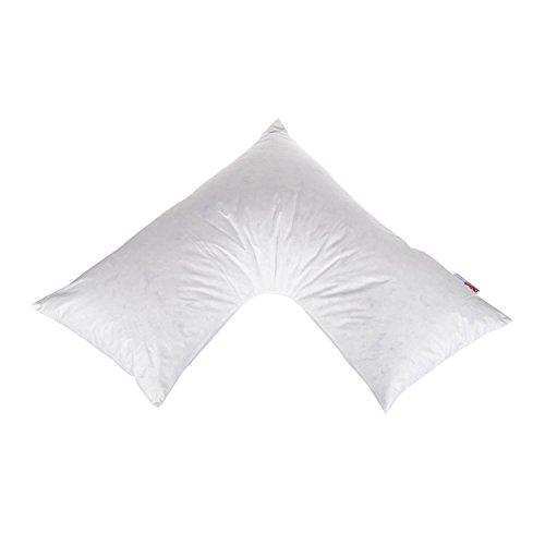 Homescapes Coussin d'allaitement en Forme de V 110 x 80 x 80 cm