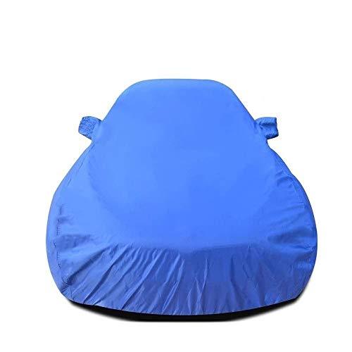 Jaxonn Home Copriauto Telo Copriauto Auto, Copertura Completa All Weather Protection, Impermeabile Auto Tela Cerata, Antipolvere, Compatibile Con Mercedes SLK (Color : Blue, Size : SLK)