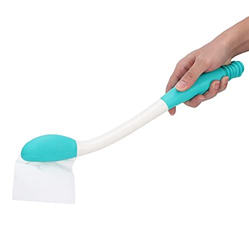 Toallita cómoda de largo alcance, ayudas para el tocador para limpiar, ayuda para limpiar papel higiénico Silicona, comodidad de largo alcance, movilidad limitada