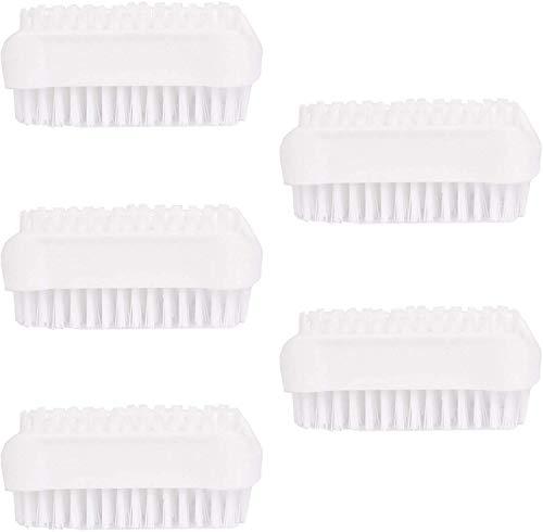 HJUK Packung mit 3 doppelseitigen Pinseln Schwarz im Set, 5 Stück Weiß