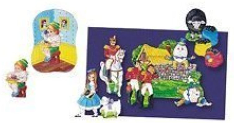 Flannelboards Set 4 Nursery Rhymes by Little Folks Visuals