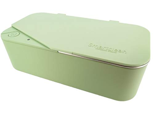 Smartclean Vison.5 Household Ultrasonic Cleaner Slim Compact Eyewear Cleaning (Green)